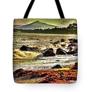 View Of The Sugarloaf Mountain From Killiney, 1b Tote Bag