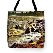 View Of The Sugarloaf Mountain From Killiney Tote Bag