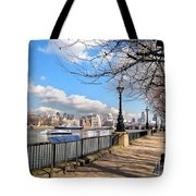 View Of The Thames Tote Bag