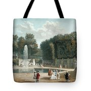 View Of The Tuileries Garden Tote Bag