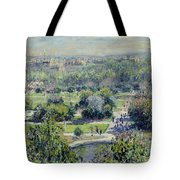 View Of The Tuileries Gardens Tote Bag by Claude Monet