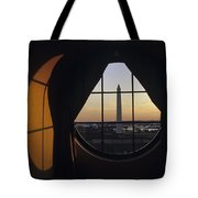 View Of The Washington Monument Tote Bag