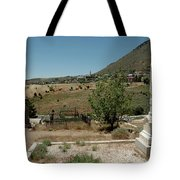 View Of Virginia City Nv From The Final Resting Place Tote Bag