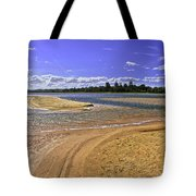 View Of Wollumboola Lake From Sand Dunes Tote Bag