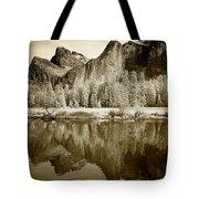 View Of Yosemite Tote Bag