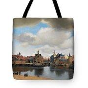 View On Delft Tote Bag