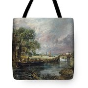 View On The Stour Near Dedham Tote Bag