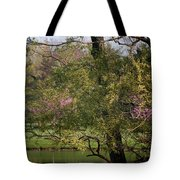 View Out My Office Window. Tote Bag