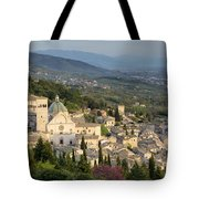 View Over Assisi Tote Bag