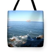 View Over Bass Rock Tote Bag