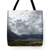 View Over Gullstein Tote Bag