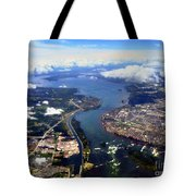 View Over Lasalle Montreal Tote Bag