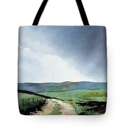 View Over Pole Moor Tote Bag