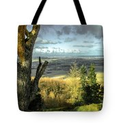 View Over Redcar Tote Bag