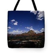 View Overlooking Sedona, Arizona Tote Bag