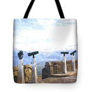 View The Columbia At The Vista House Tote Bag
