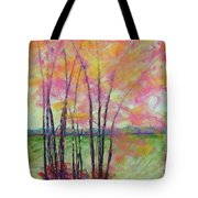 View Through Bamboo Tote Bag