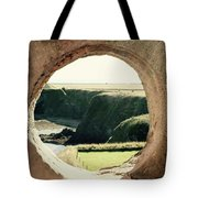 View Through The Wall. Tote Bag