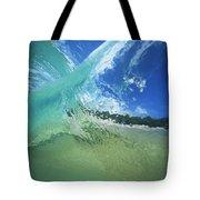 View Through Wave Tote Bag