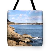 View To Sand Beach Tote Bag