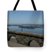 View To The West Of Crown Point Tote Bag