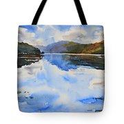 View Towards Skye Tote Bag