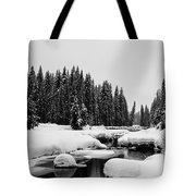 View Upriver Tote Bag