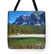 Views From Lake Louise Alberta  Tote Bag