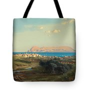 Views Of Algeciras On The Rock Of Gibraltar Tote Bag