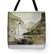 Views Of Switzerland And The Border Of Italy Tote Bag