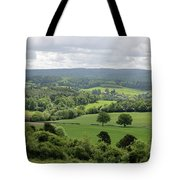 View Of The Surrey Hills From Newlands Corner Tote Bag