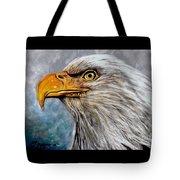 Vigilant Eagle Tote Bag