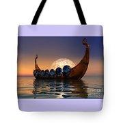 Viking Boat Tote Bag