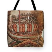 Viking Invasion 919 Tote Bag