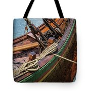 Viking Ship Rigging Tote Bag