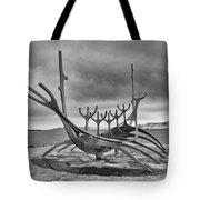 Viking Ship Sculpture Tote Bag