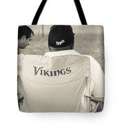 Vikings Fan Tote Bag