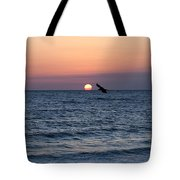 Vilano Beach At Sunrise Tote Bag