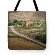 Villa In Tuscany, Italy Tote Bag