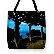Villa San Michele At Anacapri, Italy - Painting Tote Bag