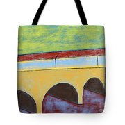 Village And Bridge Tote Bag