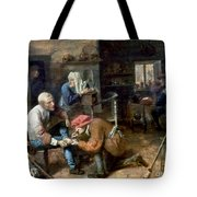 Village Barber-surgeon Tote Bag