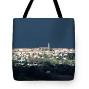 Village Before The Storm Tote Bag