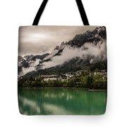 Village By The Lake Tote Bag