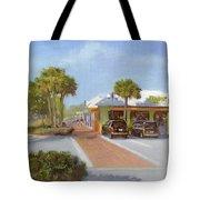 Village Cafe, Siesta Key Tote Bag