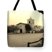 Village Chapel Tote Bag
