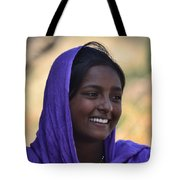 Village Girl Tote Bag