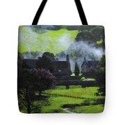 Village In North Wales Tote Bag