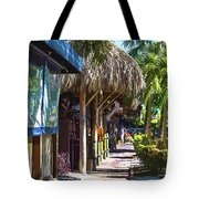 Village Life II - Siesta Key Tote Bag