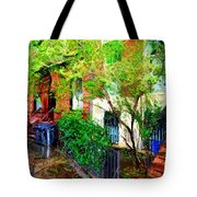 Village Life Sketch Tote Bag